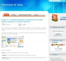 solutions gratuites installer logiciels