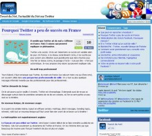 twitter succes france
