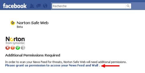 administration norton safe web
