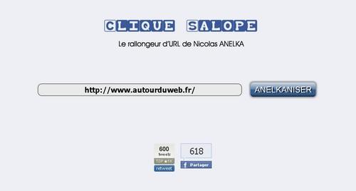 clique salope