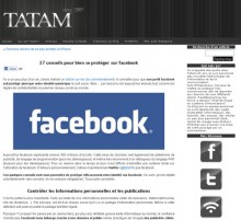 conseils facebook protéger