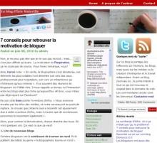 conseils motivation bloguer