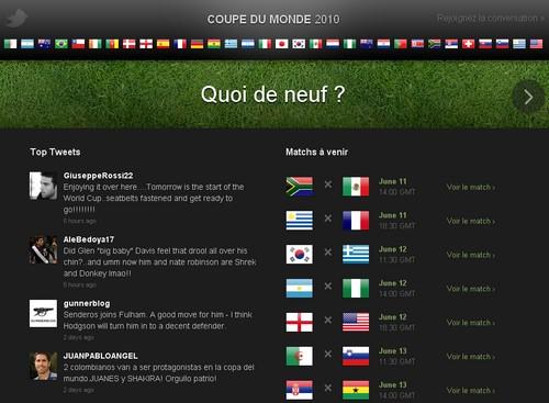 coupe du monde twitter