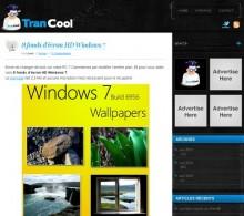 fonds ecran windows 7