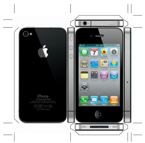 iphone 4 papier