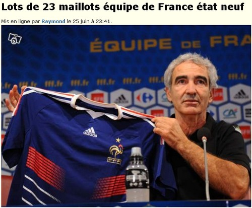 maillots equipe france