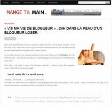 vis ma vie blogueur