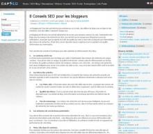 conseils seo bloggeurs
