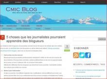 journalistes blogueurs
