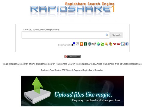 rapidse RapidShare : 10 sites pour trouver vos liens de téléchargement