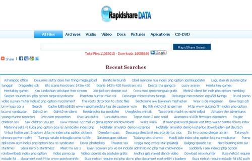 rapidshare RapidShare : 10 sites pour trouver vos liens de téléchargement