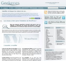 choses faire wordpress