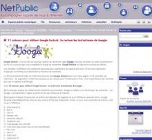astuces google instant
