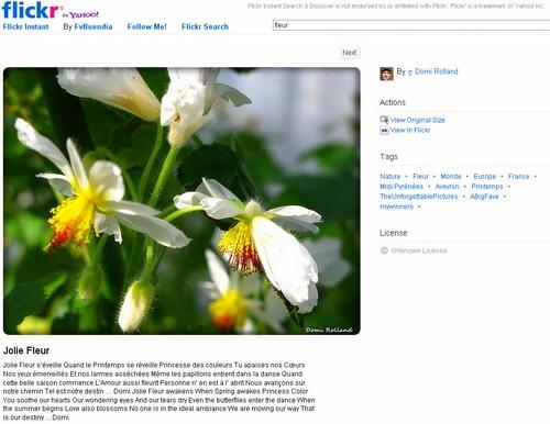 flickr instant