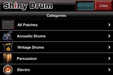 shiny drum