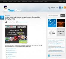 telecharger modeles html css
