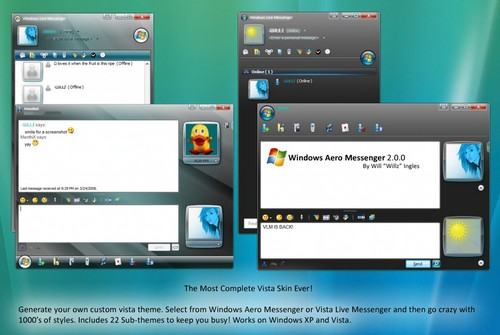 Windows-Aero-Messenger