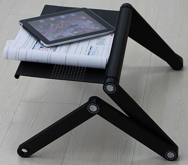 support ordi portable. Black Bedroom Furniture Sets. Home Design Ideas