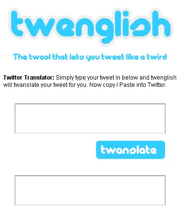 twenglish Twitter : 8 outils pour traduire les Tweets