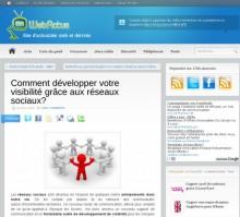 developper visibilite reseaux sociaux