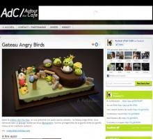 gateau angry birds
