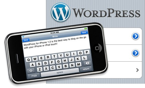 wordpress iphone