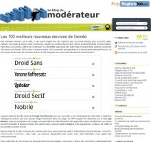 nouveaux services web