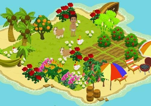 Island Paradise Top 10 des jeux fun sur Facebook (FarmVille, CityVille...)