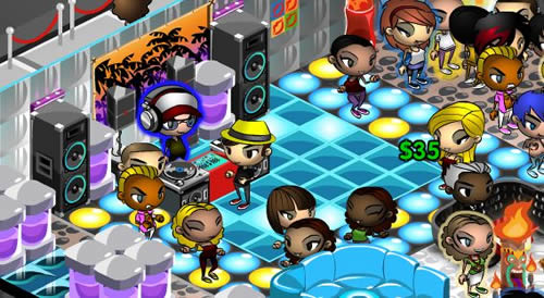 Nightclub City Top 10 des jeux fun sur Facebook (FarmVille, CityVille...)