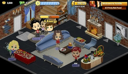 YoVille Top 10 des jeux fun sur Facebook (FarmVille, CityVille...)