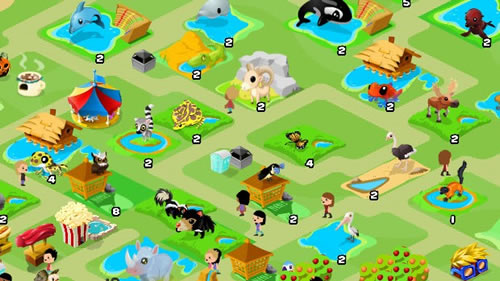 Zoo World Top 10 des jeux fun sur Facebook (FarmVille, CityVille...)
