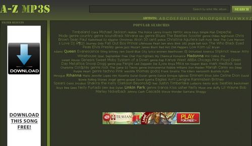 azmp3s 20 sites pour écouter de la musique gratuite en ligne