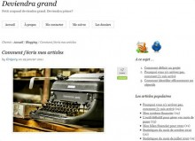 comment ecrire article