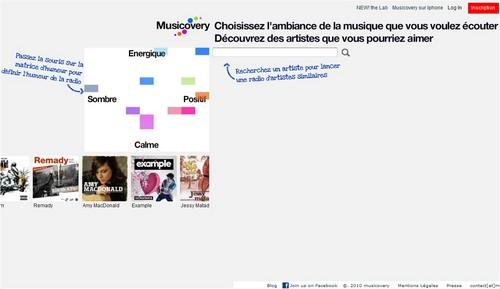 musicovery 20 sites pour écouter de la musique gratuite en ligne