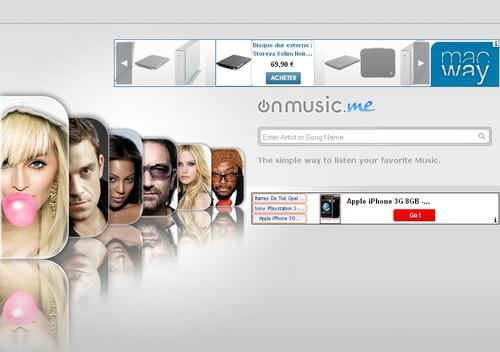 onmusic 20 sites pour écouter de la musique gratuite en ligne