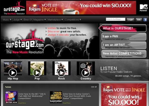 ourstage 20 sites pour écouter de la musique gratuite en ligne