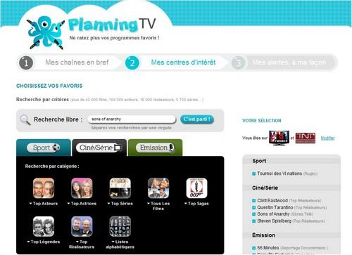 planningtv interet