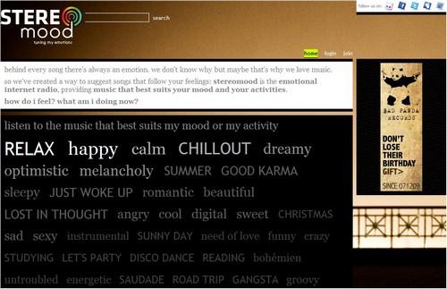 stereomood 20 sites pour écouter de la musique gratuite en ligne