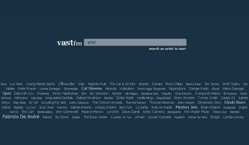 vast fm 20 sites pour écouter de la musique gratuite en ligne