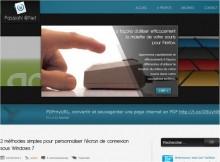 personnaliser ecran connexion windows 7