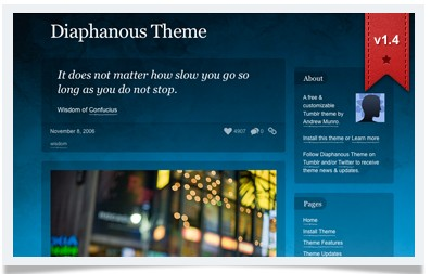 Diaphanous Theme
