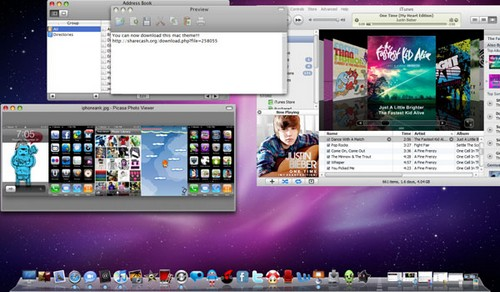 Mac Theme Windows 7 Desktop