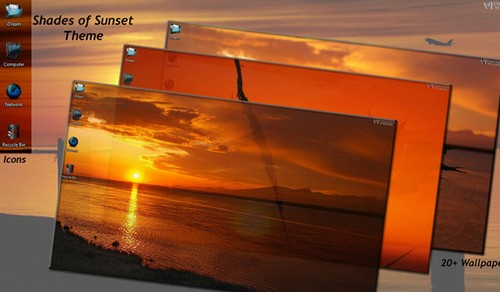 Shades of Sunset Theme