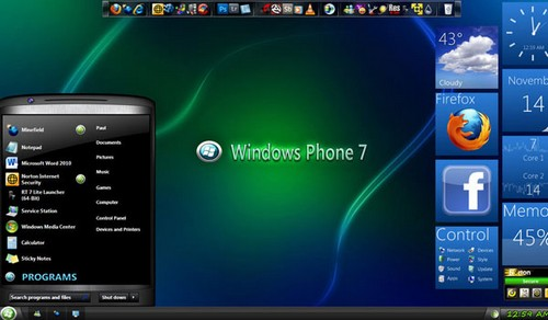 Windows Phone 7 Theme