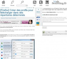 creer profils firefox