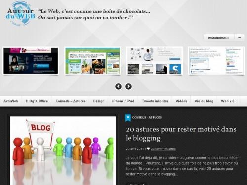 autour du web design