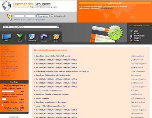 commandes groupees