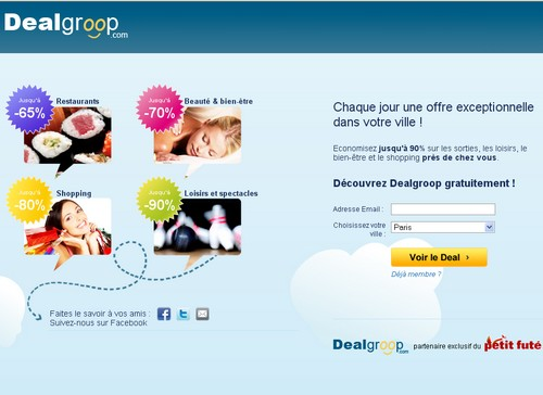 dealgroop 14 sites comme Groupon