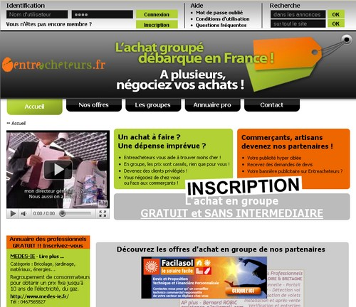 entreacheteurs 14 sites comme Groupon