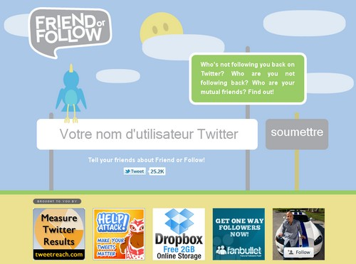 friend follow Les 40 meilleures applications Twitter